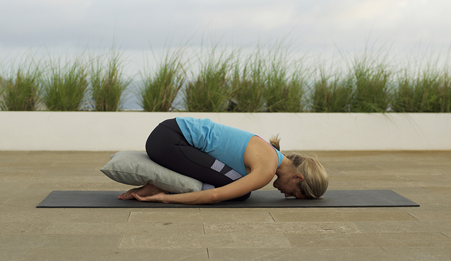 -Child is a counterpose to your paddling position, putting you in spinal flexion. 