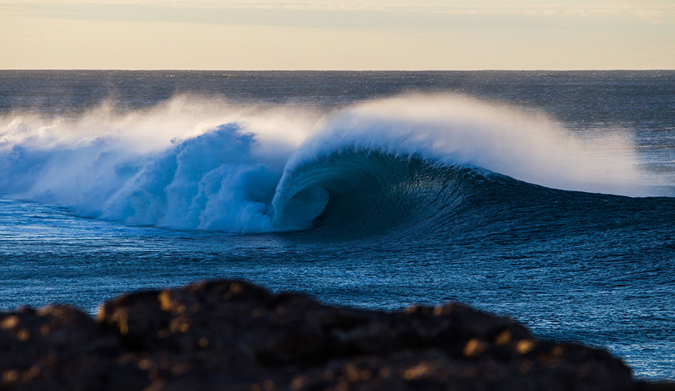 "This wave has always intrigued me from a distance. A few months ago I finally made the trek down to it on first light to see what it was all about. Photo: <a href=""http://www.benleephoto.com.au/home/\"">Ben Lee</a>"