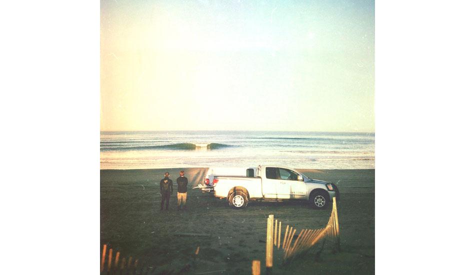 "Jason Breiholz and Nigel Haynes enjoying the view in Kill Devil Hills, NC. Photo: <a href= \""http://instagram.com/matt_beacham/\"" target=_blank>Matt Beacham</a>"