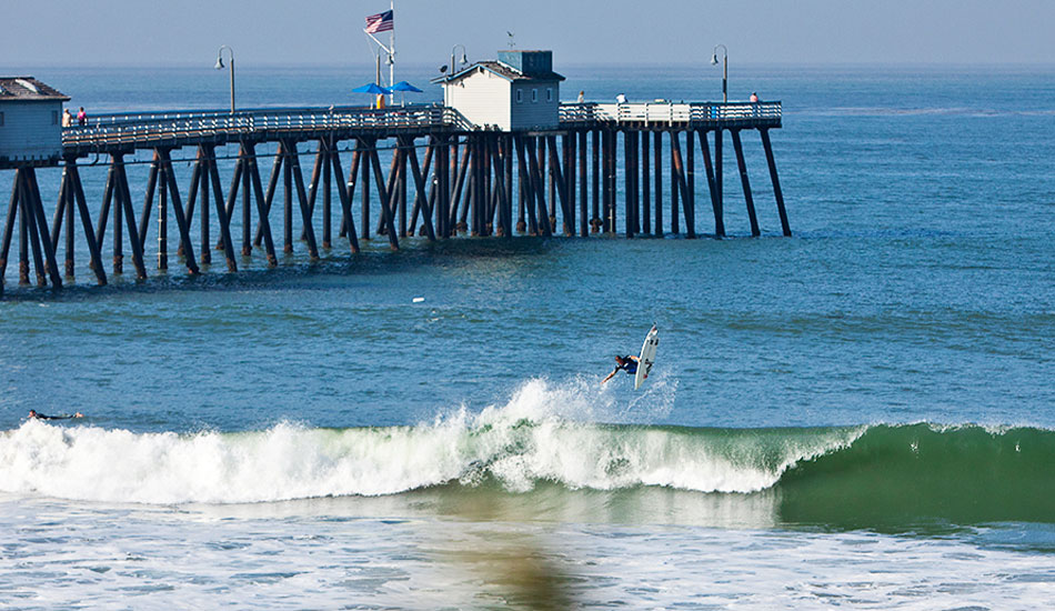 "Jeff Lukasik is another humble, down-to-earth, incredibly talented surfer from San Clemente. If you ever surf the Lower's right, chances are you've split a peak with Jeff. Photo: <a href=""http://markmcinnis.com/\"">Mark McInnis</a>"