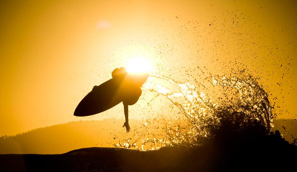 """Mikey Brennan, Clifton Beach flair. Photo: <a href=\""""http://www.stugibson.net\"""">Stuart Gibson</a>"""