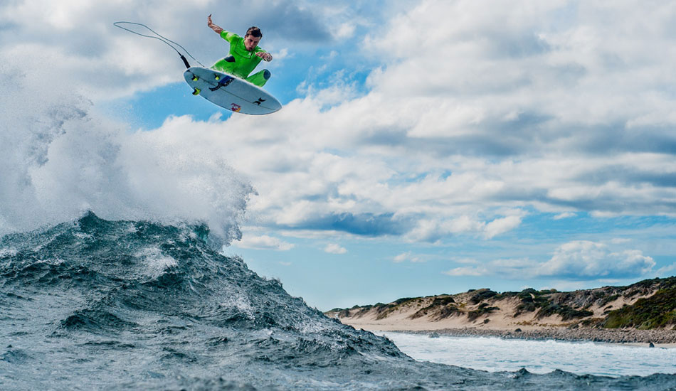 "From my first trip to West Oz earlier this year. Julian was throwing some of the biggest airs I\'d ever seen in person this trip and I was so glad when I downloaded my cards and everything came out how I\'d planned. Photo: <a href=""http://trevormoran.com/\"">Trevor Moran</a>"