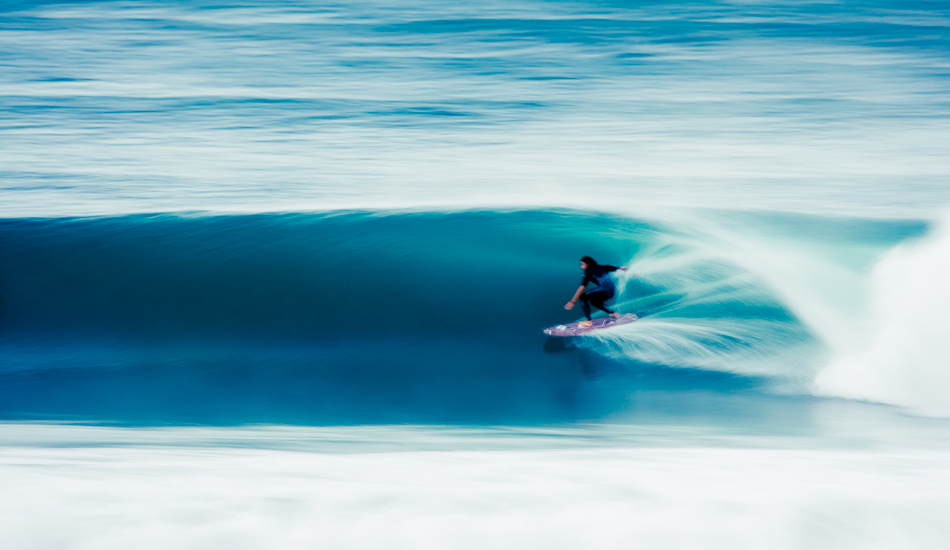 "Dave Rastovich escaping the crowds somewhere near Byron Bay. He was charging that night and I was lucky enough to get this speed blur long after the sun had set. Photo: <a href=""http://www.alexfrings.com/\"" target=_blank>Alex Frings</a>"