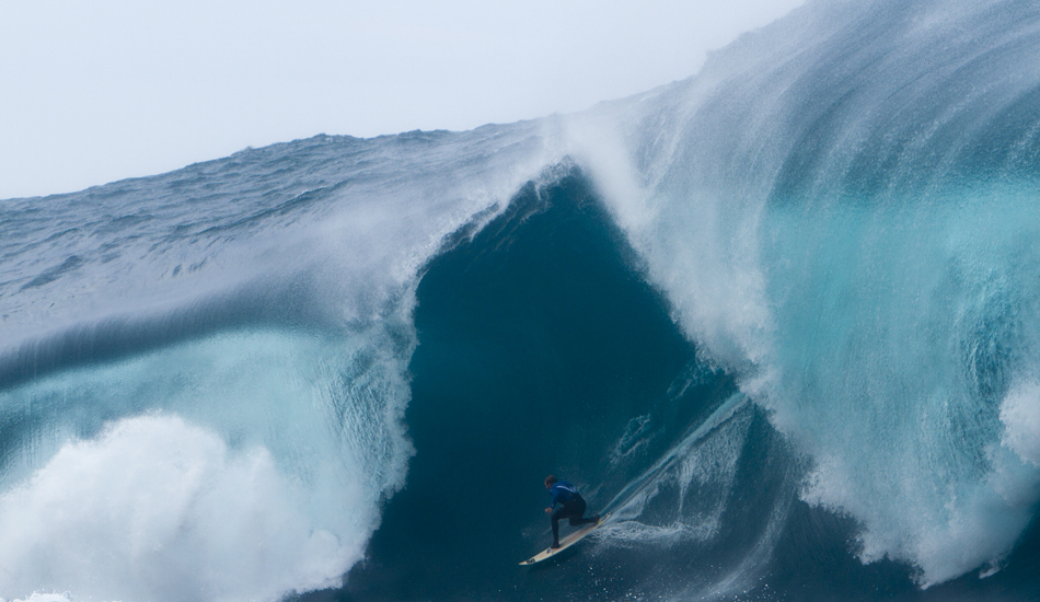 "Mark Mathews on an absolute, death-defying bomb. Photo: <a href=""http://raycollinsphoto.com/\"" target=_blank>Ray Collins</a>"