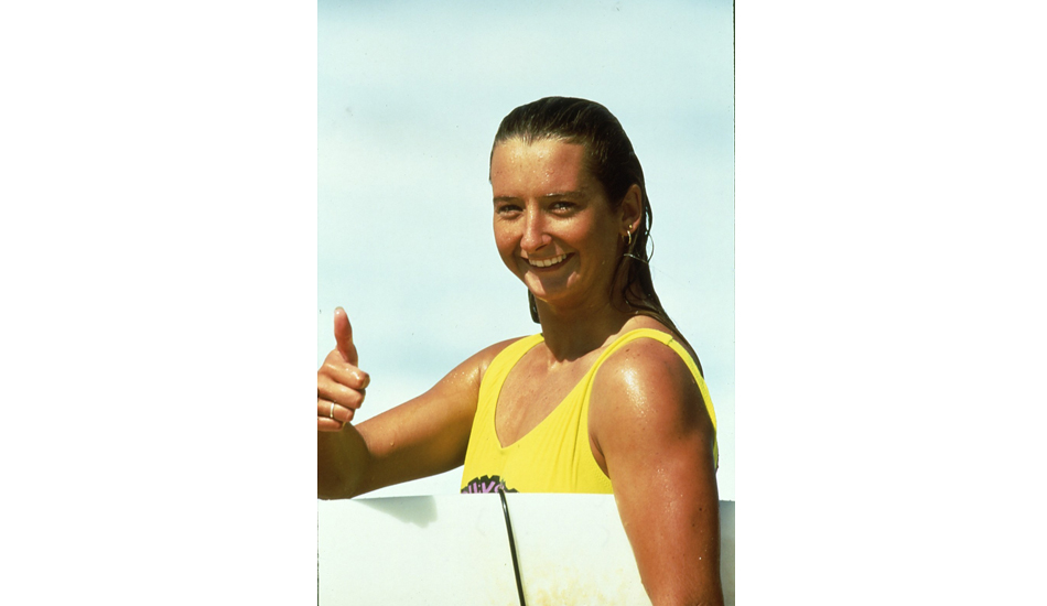 "Seven-time world champ Layne Beachley. Photo <a href=""http://www.aspworldtour.com\"">courtesy of the ASP</a>"