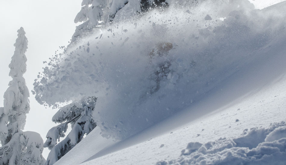 We had to post at least one shot of the incredible pow on Legends Day. Rider: Nigel Beaupre