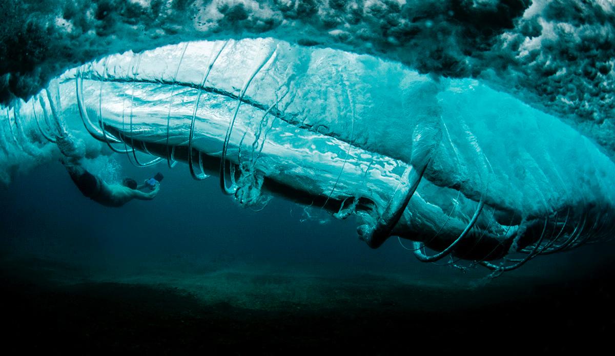 "Barrel Vortex.  Photo: <a href=\""RayCollinsPhoto.com\"">Ray Collins Photo</a>"