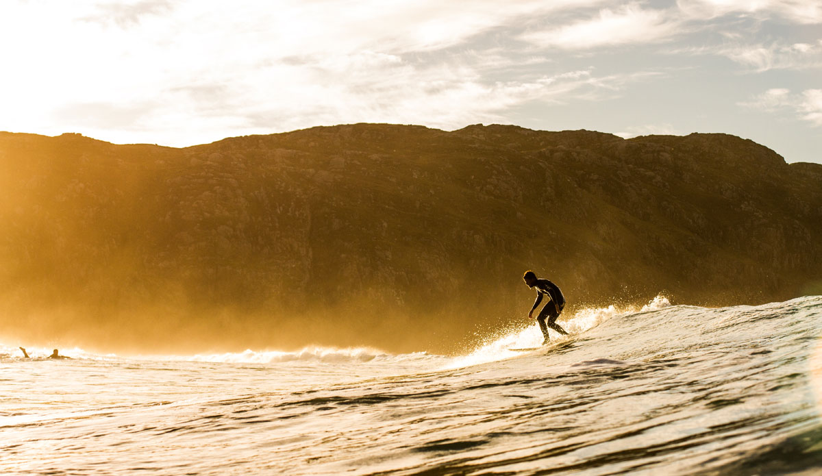 """It\'s funny how small of a role the wave itself can play in surfing.\"" Photo: <a href=\""www.cmcleod.com\""> Christian McLeod</a>"