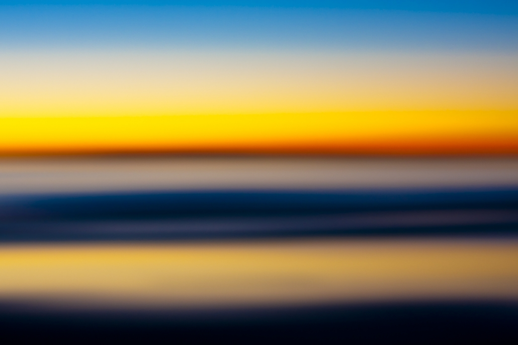 """The range of colors can be so dramatic at this time of day. Photo: <a href=""""http://www.LucarelliPhoto.com/""""> John Lucarelli</a>"""