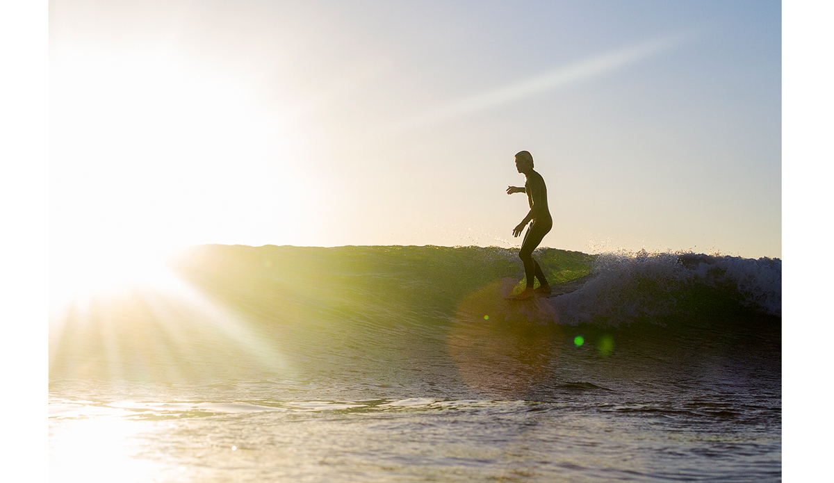 """Longboarding is something I don't get the opportunity to shoot enough. I'm looking forward to linking up with surfers like Nick Anderberg again to capture this timeless and beautiful genre of our sport. Photo: <a href=""""http://markmcinnis.com/"""" target=_blank>Mark McInnis</a>"""
