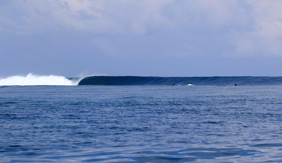 "Yes, the Mentawais get this good. Photo: <a href=""http://waterwaystravel.com/surf_mentawais/kandui/"">Kandui Villas/Black Pearl</a>"