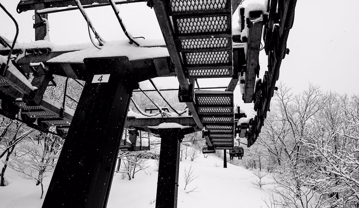 "Chairlift, Myoko, Japan. Photo: <a href=\""http://instagram.com/deanblottogray\"">Dean Blotto Gray</a>"