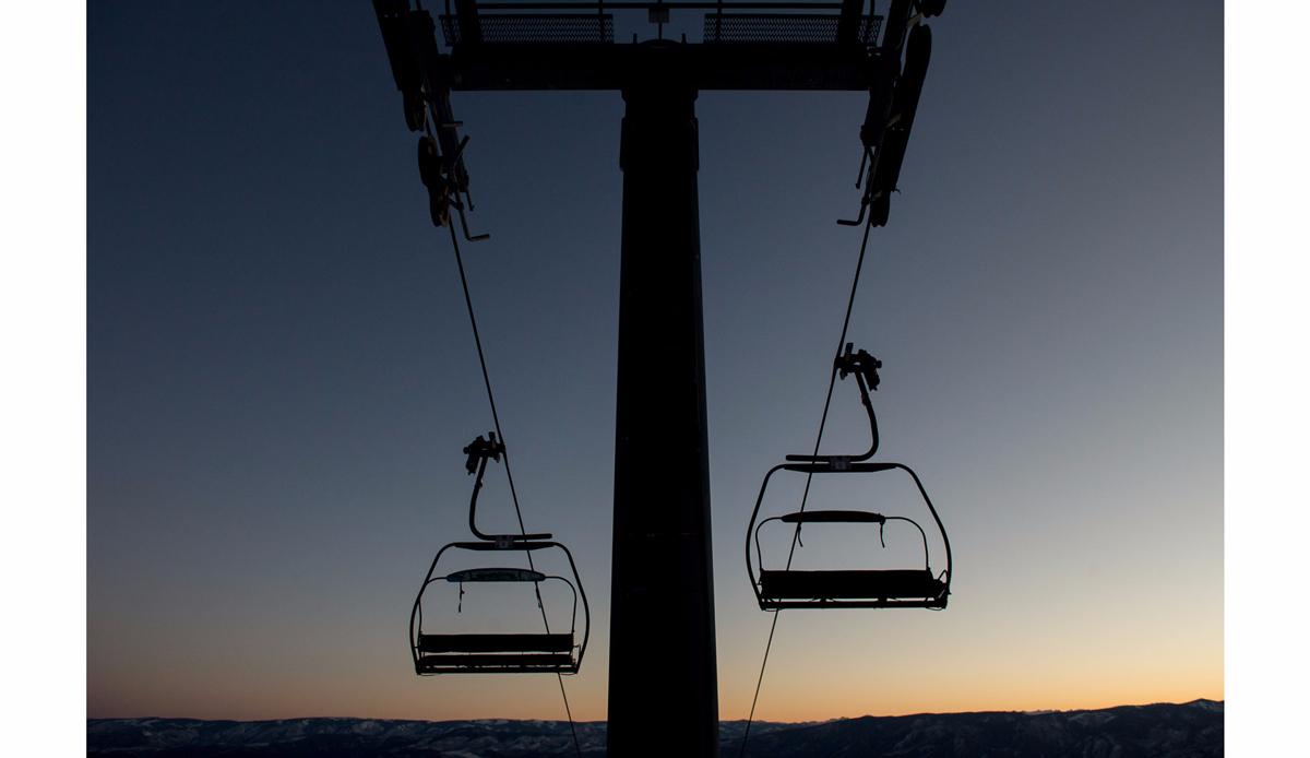 """Chairlift, Snowmass. Photo: <a href=\""""http://instagram.com/deanblottogray\"""">Dean Blotto Gray</a>"""