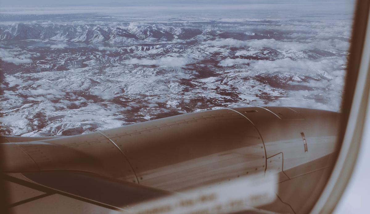 "Window seat, Wyoming. Photo: <a href=\""http://instagram.com/deanblottogray\"">Dean Blotto Gray</a>"