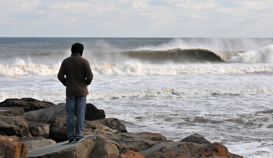"December brings some much needed swells after a lackluster fall in New Jersey. Photo: <a href=""http://jerseyshoreimages.com/about.html\"">Robert Siliato</a>"