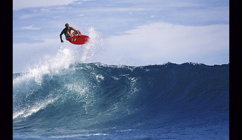 """Nathan Fletcher, Macaroni's, Mentawais Islands, 1998. Image: <a href=\""""http://www.artbrewer.com/\"""" target=\""""_blank\"""">Brewer</a>"""