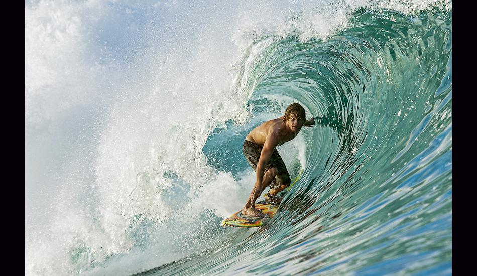 """Mike Morrisey, Ebay, Mentawais Islands, 2007. Image: <a href=\""""http://www.artbrewer.com/\"""" target=\""""_blank\"""">Brewer</a>"""