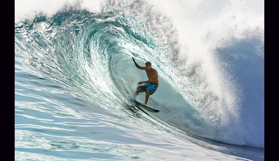 """Bruce Irons, Bank Vaults, Mentawais Islands, 2009. Image: <a href=\""""http://www.artbrewer.com/\"""" target=\""""_blank\"""">Brewer</a>"""