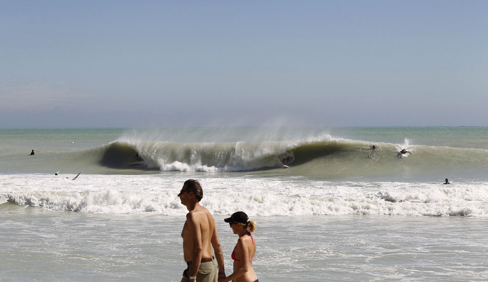 "A-frames for days in South Beach. Photo: Mike Jones/<a href=\""http://azhiaziam.mybigcommerce.com/\"" target=_blank>Azhiaziam</a>"