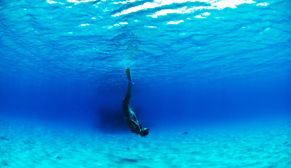 "This is my sister diving at Frigates pass in Fiji. The place lived up to the hype. Photo: <a href=""http://www.jackdekortphoto.com/\"">Jack Dekort</a>"