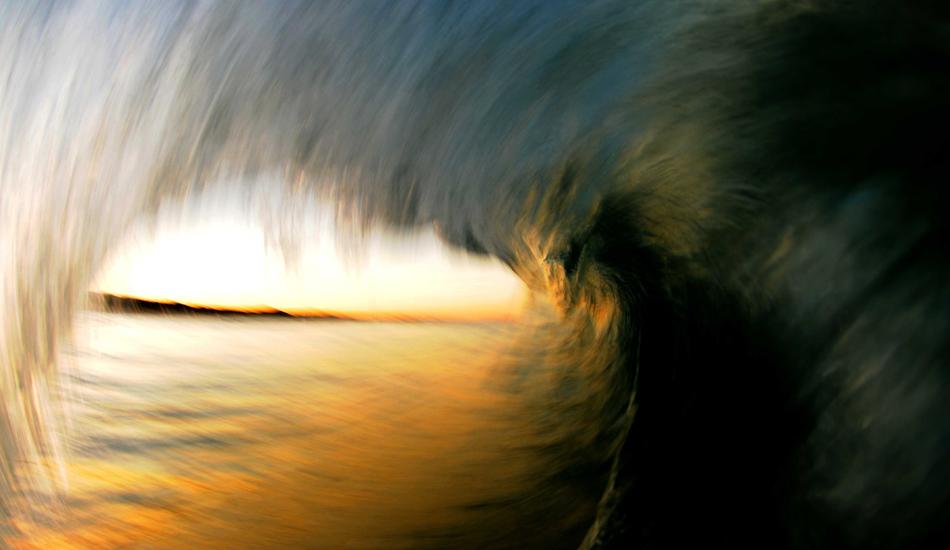 """Slow shutter shot just after sunset at Coolum Beach. Photo: <a href=\""""http://www.jackdekortphoto.com/\"""">Jack Dekort</a>"""