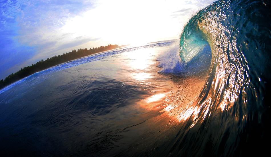 "Sunrise over Southern Sumatra. Photo: <a href=\""http://www.jackdekortphoto.com/\"">Jack Dekort</a>"