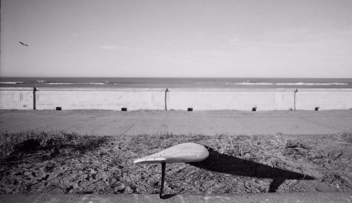 planche surf argentique