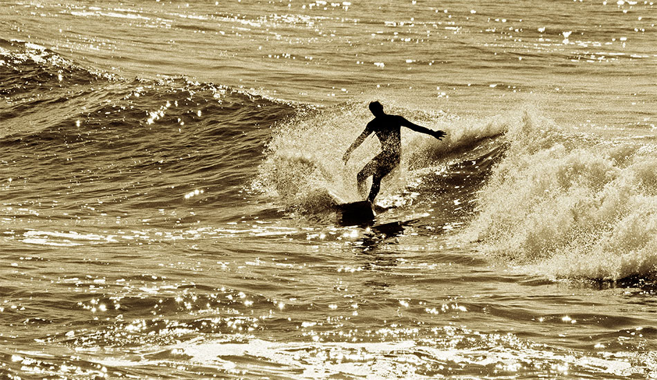 One of the best locals at Salinas beach, Juan Sarmiento, doing what he knows best.