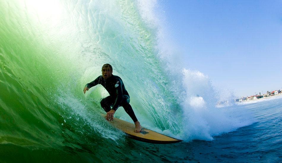 "Pat Towersey, Fire swell, Newport, CA 2007. <a href=\""http://www.ruddyphoto.com\"" target=_blank>RuddyPhoto.com</a>"