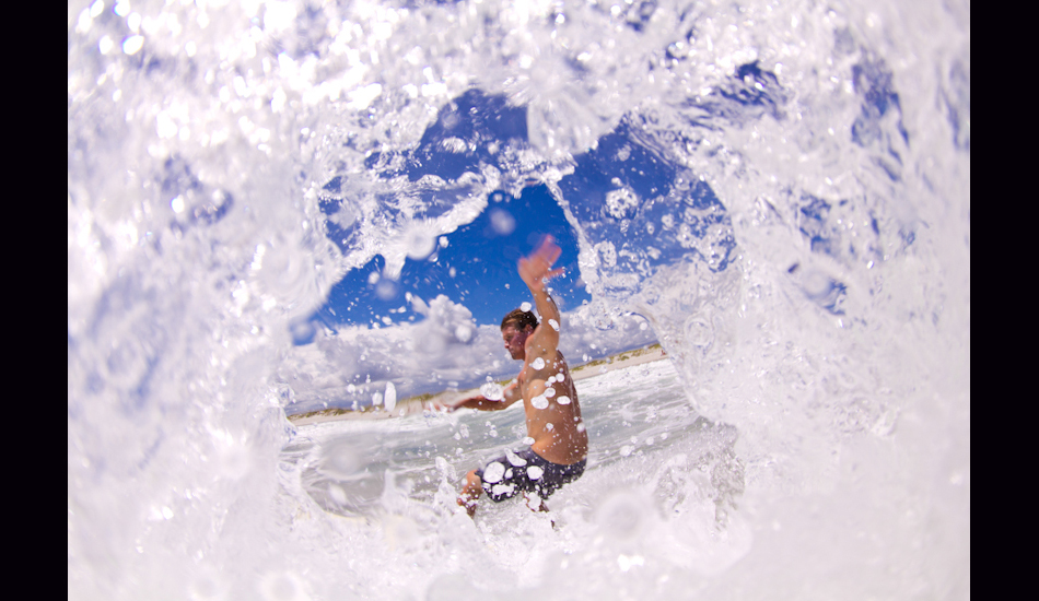 "Wrightsville Beach, NC, 2012. Mark Adams seen through the creative perspective of a water photographer. Photo: <a href=""http://www.chrisfrickphotography.com/\"" target=_blank>Chris Frick</a>"