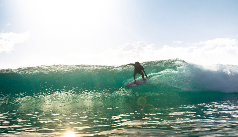 "This to me is perfect light. A photograph I could mind surf into eternity. (Surfer: Johnny Abegg) Image: <a href=""http://www.alexfrings.com\"" target=\""_blank\"">Frings</a>"