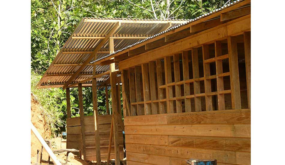 """New elementary school construction. Photo: <a href=\""""http://giveandsurf.org/\"""">Give and Surf</a>"""
