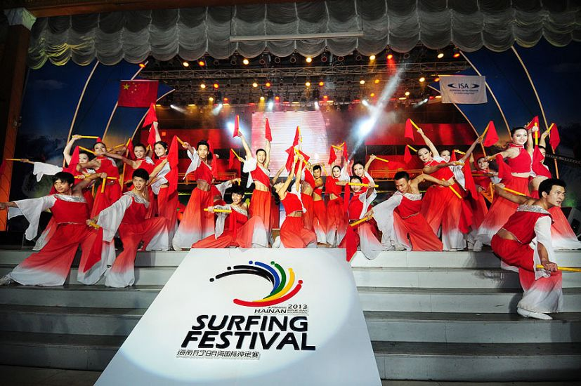 The opening ceremony is almost as entertaining as the events themselves. Almost. Photo: ISA/Tweddle