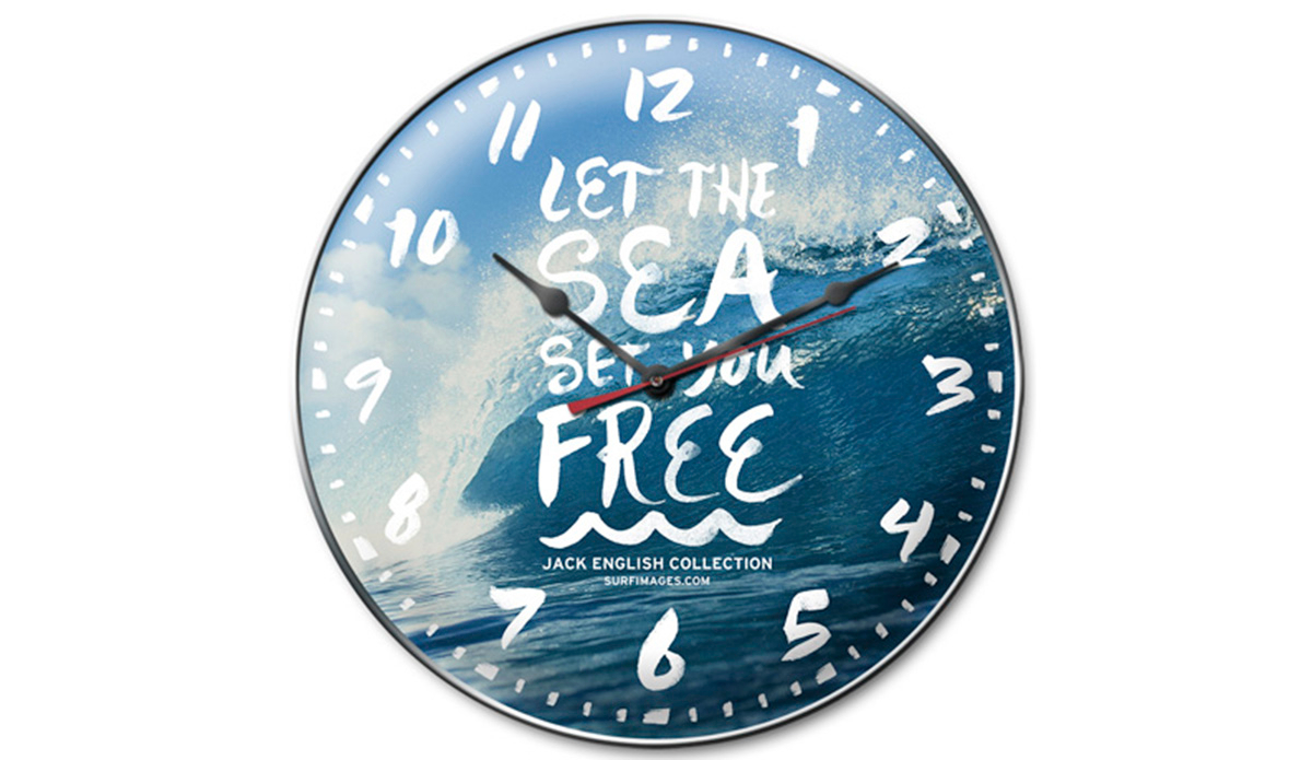 These surfing wall clocks are infinitely cooler than regular wall distributor of ideas amipublicfo Images