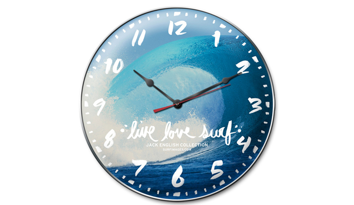 These Surfing Wall Clocks Are Infinitely Cooler Than ...