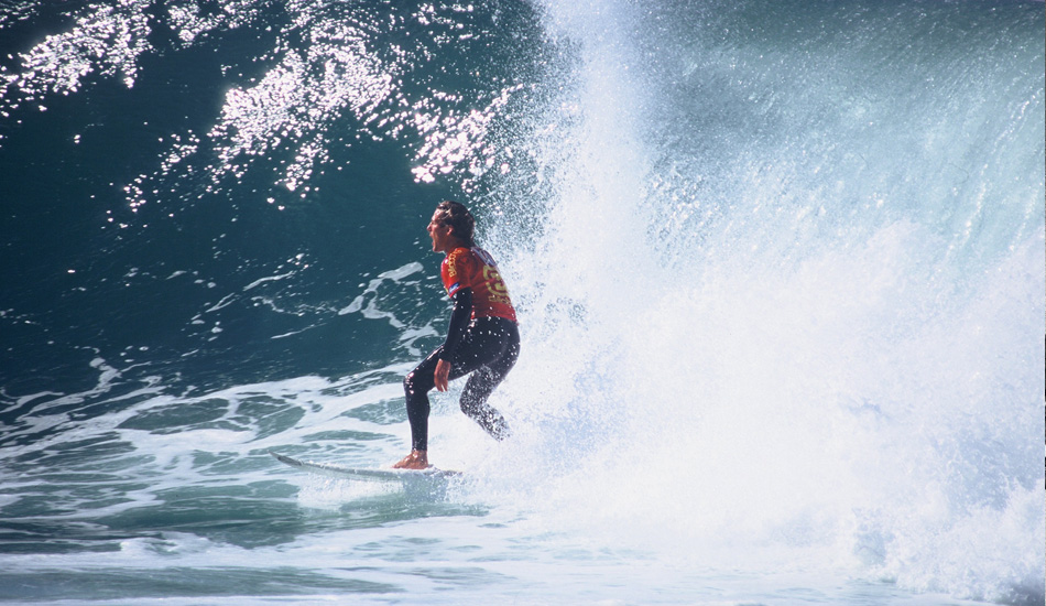 Andy Irons, exhilarated. We miss this. Photo: Jared Aufrichtig