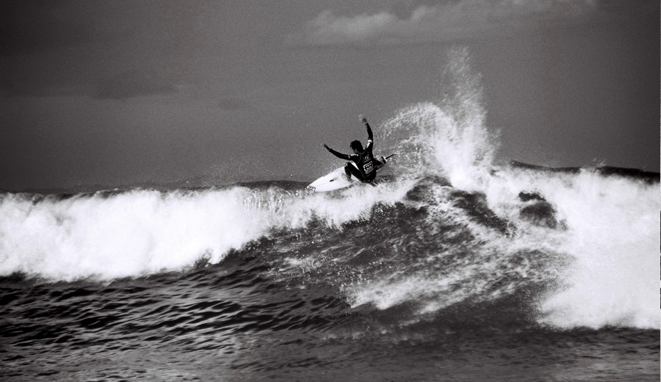 Jordy Smith, first WCT event. Photo: Jared Aufrichtig