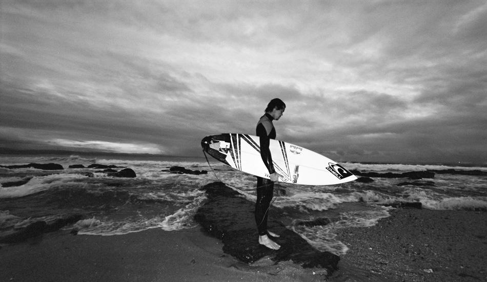 Jordy Smith, 2010. Photo: Jared Aufrichtig