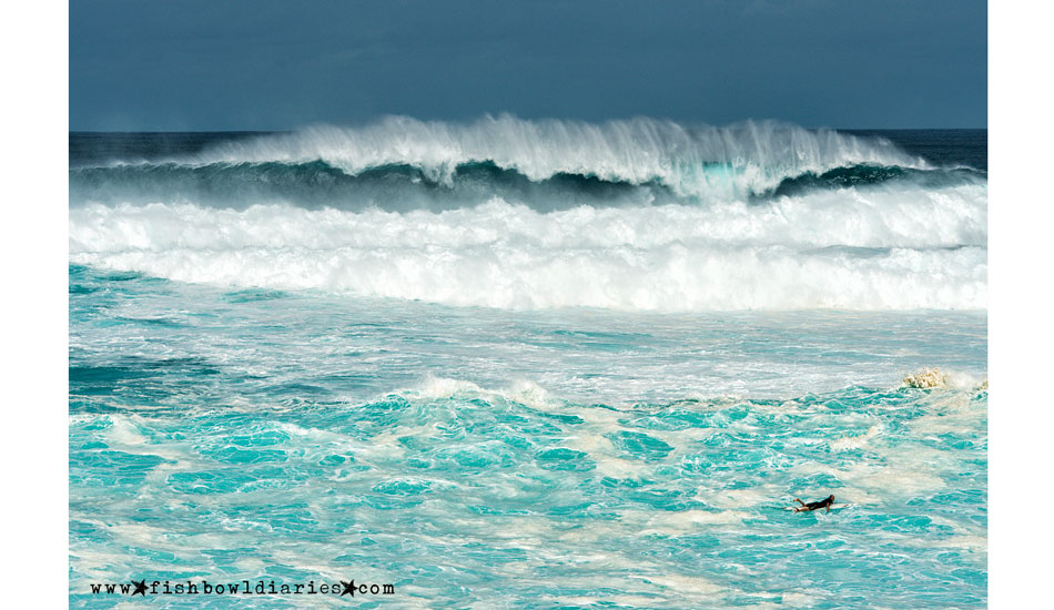 "This will be a difficult paddle out. Photo: <a href=""http://fishbowldiaries.com\"">Sofie Louca - Fish Bowl Diaries</a>"
