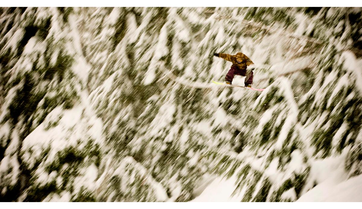 "Gigi Ruef; Mt. Baker, WA; December 13, 2006. Photo: <a href=\""http://www.jeffcurtes.com/\"">Jeff Curtes</a>"