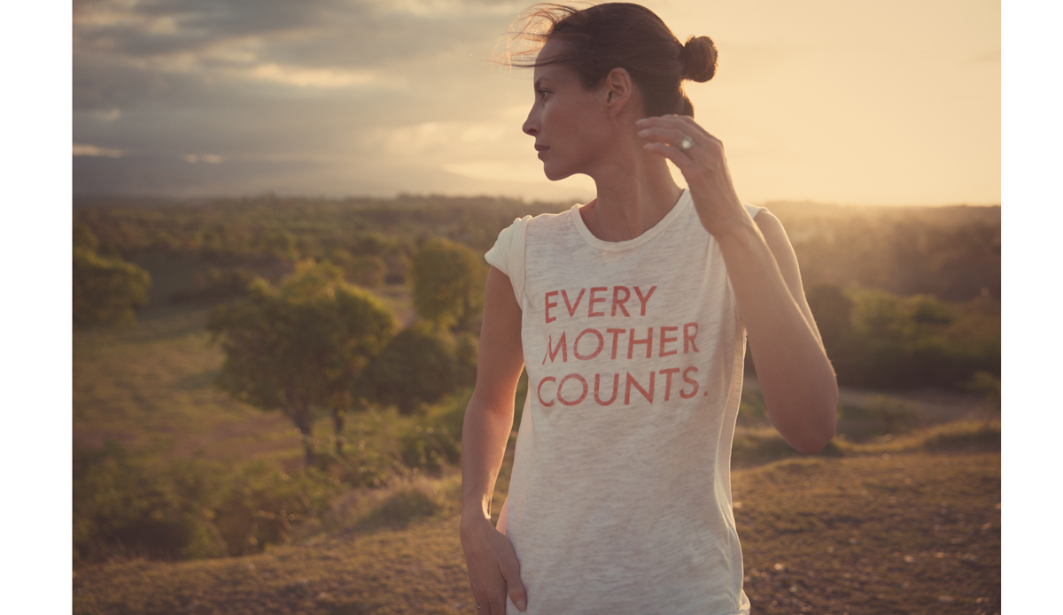 "<a href=\""http://everymothercounts.org/\"">Every Mother Counts</a> founder, Christy Turlington. Photo: <a href=\""http://instagram.com/kassiameador\"">Kassia Meador</a>"