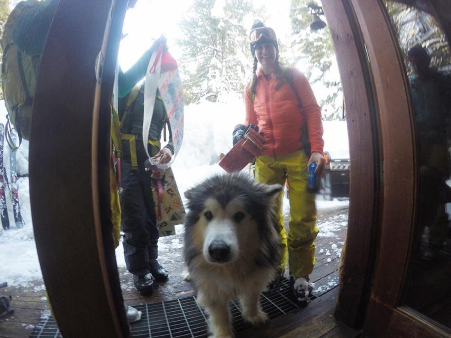 Lost Trail Lodge mascot.