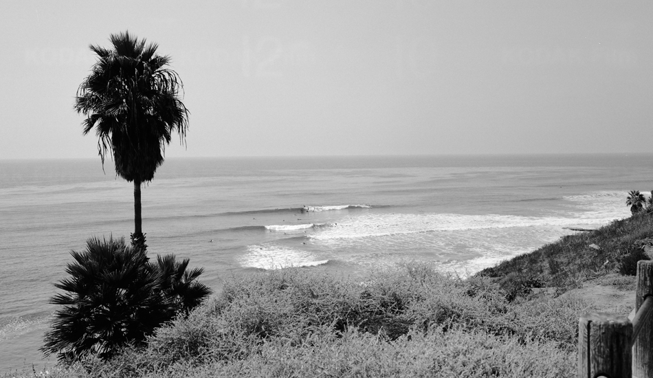 """My parents live right up the street from Swamis. It\'s basically where I learned how to surf and where I surfed for the first part of my surfing life. It will always have a special place in my heart. Image: <a href=\""""http://www.robmachado.com/\"""" target=\""""_blank\"""">Machado</a>"""