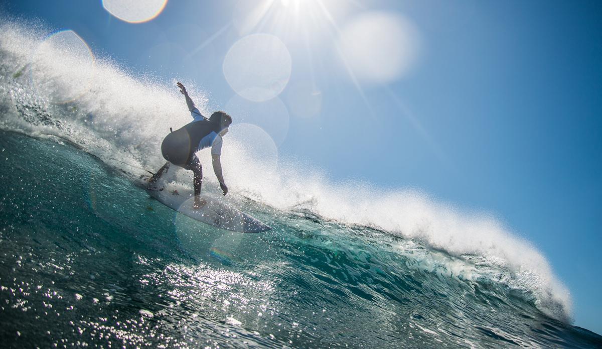 Everyday after school groms like Gregory Rojas head to surf till sundown. Photo: Maria Fernanda