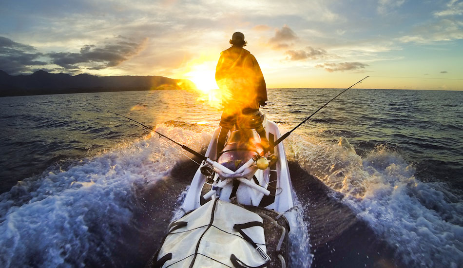 """I enjoy spending the summer fishing from my Jet Ski. I mounted a Gripstick Pro mount on the sled hooked up to the GoPro Hero 3+. I am heading back to the harbor near my house after a wonderful afternoon sojourn. Photo: <a href=\""""http://www.mikecoots.com\"""">Mike Coots</a>"""