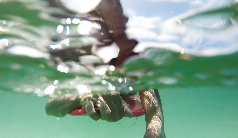 "Underwater image of myself with the GoPro Hero 3+. Photo: <a href=""http://www.mikecoots.com\"">Mike Coots</a>"