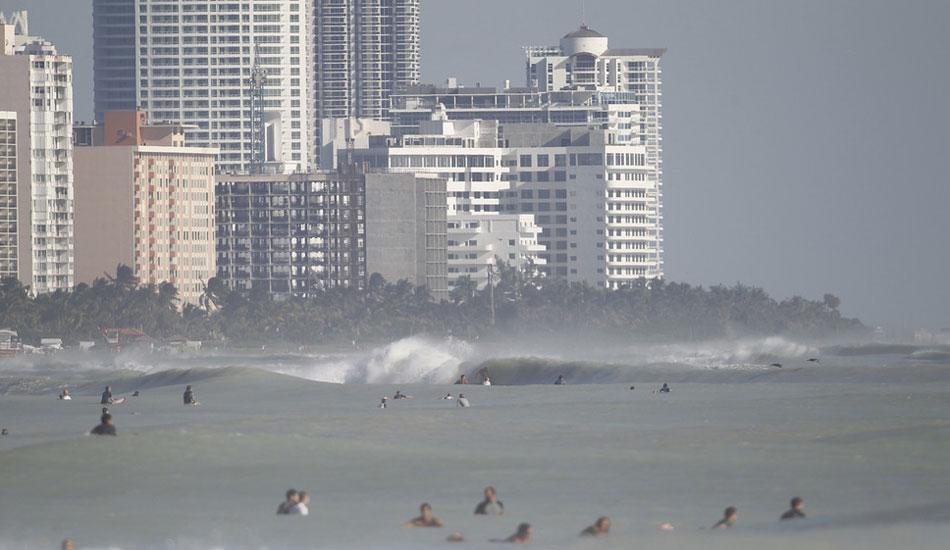 "Madness at South Beach. <b>Photo:</b> <a href=\""http://azhiaziam.mybigcommerce.com/\"" target=_blank>Mike Jones</a>"