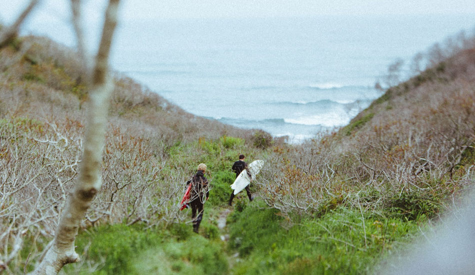 "Tip 3: When near the coast look for narrow dirt trails.  You never know where they are going to lead. Maybe something good. Maybe something bad. It beats sitting in a car. Photo: <a href=""forestwoodward.com/\"" target=_blank>Forest Woodward</a>"