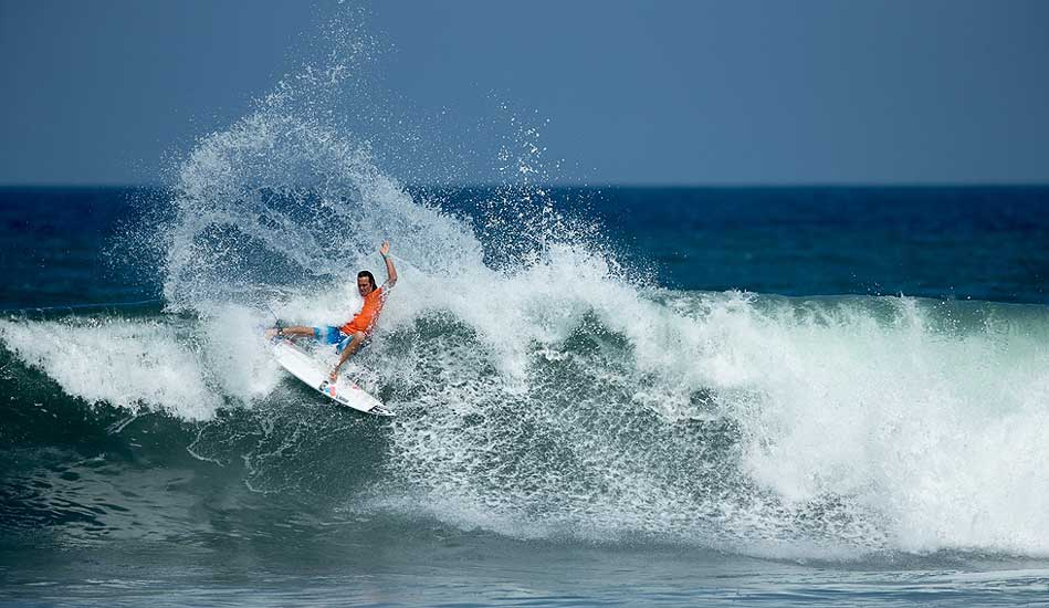 """Jordy had every expectation that Bali would be the best stop on tour. As of now, can\'t say we disagree. Photo: <a href= \""""http://www.oakleyprobali.com/photos/\"""">Russ Hennings</a>"""