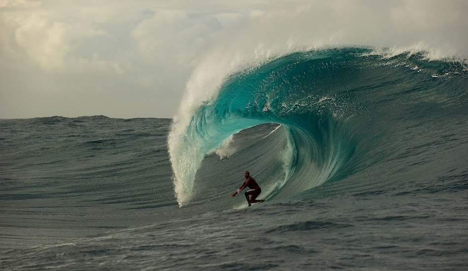 "Mark has made more trips out West than most, and we were lucky enough to share a solo session at a secluded slab. Location – well you\'re not going to hear it from me. Photo: <a href=""http://www.russellord.com\"" target=\""_blank\"">Russell Ord</a>"
